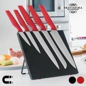 Bravissima Kitchen Messen met Magnetische Houder (6 stuks)