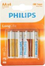 Philips   AA batterijen