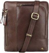 Visconti Merlin leather Roy Messenger Bag - ML20bn
