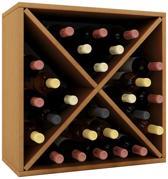 Wijnkast wijnrek Weino III modulair samen te stellen beuken