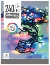 Gekleurde kerstboomverlichting - 240 LEDs - 24 meter - Maak iets unieks van je kerstboom