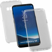 Samsung Galaxy S8 Transparant 360 Graden Bescherming hoesje