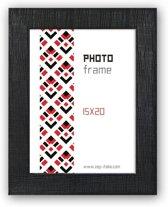 ZEP -  Fotolijst Garda Zwart voor foto formaat 15x20 - K468B