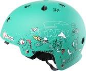 Cycle Tech Helm Xcool 2.0 Sketch Groen Maat 55-58 Cm