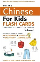 Tuttle Chinese for Kids Flash Cards Kit Vol 1 Traditional Ed