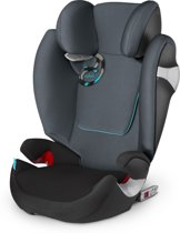 Cybex - Solution M-Fix - Autostoel groep 2,3 -  Black Sea - grey