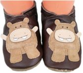 I-Wawa babyslofjes nijlpaard bruin