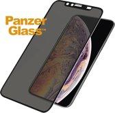 PanzerGlass CamSlider™ Privacy Screenprotector voor iPhone Xs Max - Zwart