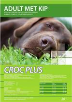 Croc Plus Hondenbrokken - 20 kg - Adult Met Kip