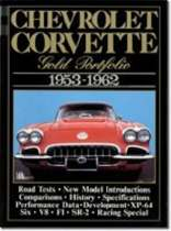 Chevrolet Corvette Gold Portfolio, 1953-62