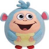 Ronde Dora Boots Pluche Beanie Ballz knuffel – 13x12x11cm | Speelgoed voor Kinderen van 3 tot 8 jaar | Apenknuffel