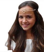 Jessidress Haarband met strass Haar ketting