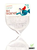 3 BMT Waszakje lingerie BH wasnet - met rits - ultieme bescherming