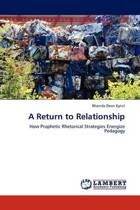 A Return to Relationship