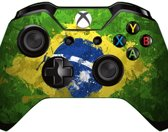 Xbox One Controller Skin Sticker - Brazilian Flag Paint