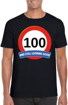 100 jaar and still looking good t-shirt zwart - heren - verjaardag shirts 2XL