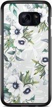 Samsung Galaxy S7 Edge hoesje - Floral art