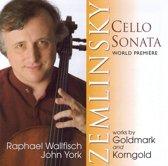 Zemlinsky: Cello Sonata, Works By Goldmark, ...