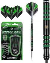 Winmau Brendan Dolan onyx Black  - 25 gram