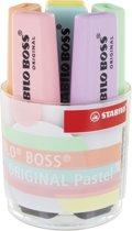 NIEUW - Markeerstiften - STABILO BOSS ORIGINAL Pastel - Bureauset met 6 pastel kleuren