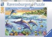 Ravensburger puzzel Dolfijnenbaai 500 stukjes