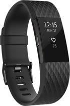 Fitbit Charge 2 - Activity tracker - Zwart Gunmetal Special Edition - Large