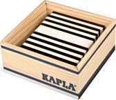 KAPLA Kleur - 40 Plankjes - Zwart & Wit