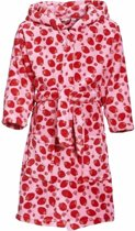 Roze badjas aardbei voor meisjes 134/140 (9-10 jr)