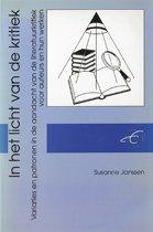 Publikaties van de Faculteit der Historische en Kunstwetenschappen 14 - In het licht van de kritiek