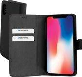 Mobiparts 2 in 1 Premium Wallet Case Apple iPhone X/XS Black