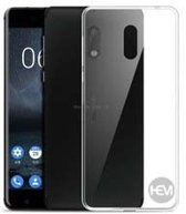 Nokia 3 Hoesje transparant Siliconen Gel TPU / Back Cover