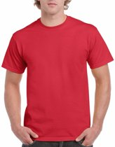 Rood katoenen shirt voor volwassenen L (40/52)