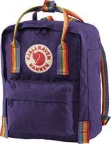 Fjallraven Kanken Rainbow Mini Rugzak 7 liter - Purple-Rainbow Pattern