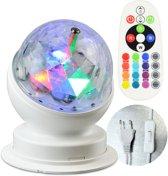 X4-TECH 701591 stroboscoop- & discolamp Disco-spotlight Wit Geschikt voor gebruik binnen