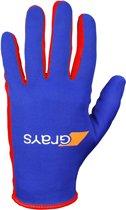 Grays Skinful Hockeyhandschoenen - Hockeyhandschoenen  - blauw kobalt - L