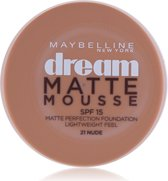 Maybelline Dream Matte Mousse - 21 nude - Foundation foundationmake-up