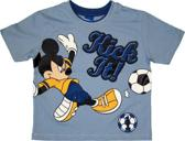 Disney Mickey Mouse Voetbal Jongens T-shirt 104