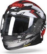 SHOEI NXR VARIABLE TC-1 ZWART ROOD WIT INTEGRAALHELM 2XL