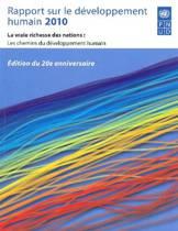 Rapport Mondial Sur Le Developpement Humain 2010