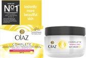 Olaz Complete Normale/Droge Huid SPF 15 - 50ml - Dagcrème