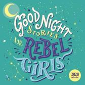Good Night Stories for Rebel Girls 2020 Wall Calendar