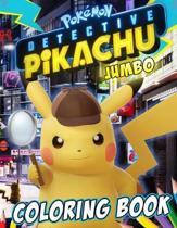 Pokemon Detective Pikachu Coloring Book