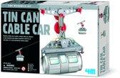 4M Fun Mechanics Kit - Kabelbaan uit blik - Hobbyset