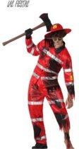 Zombie brandweerman Halloween kostuum voor heren - Verkleedkleding - XL