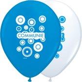 Communie ballonnen jongen 30cm 8st.