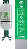 Plum Oogspoelstation Duo 1000 ml, DIN 15154-4, voor wandmontage