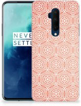 OnePlus 7T Pro TPU bumper Pattern Orange