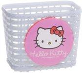 Bike Fashion Hello Kitty - Fietsmand - Kunststof - Wit