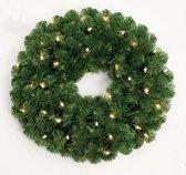 Royal Christmas Dakota Kerstkrans - Diameter 60 cm - 60 warm LED lampjes geintegreerd - 200 takken