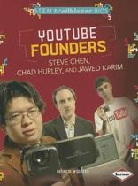 Youtube Founders Steve Chen, Chad Hurley, and Jawed Karim